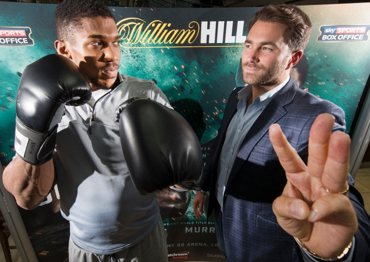 William Hill Joshua Sponsorship
